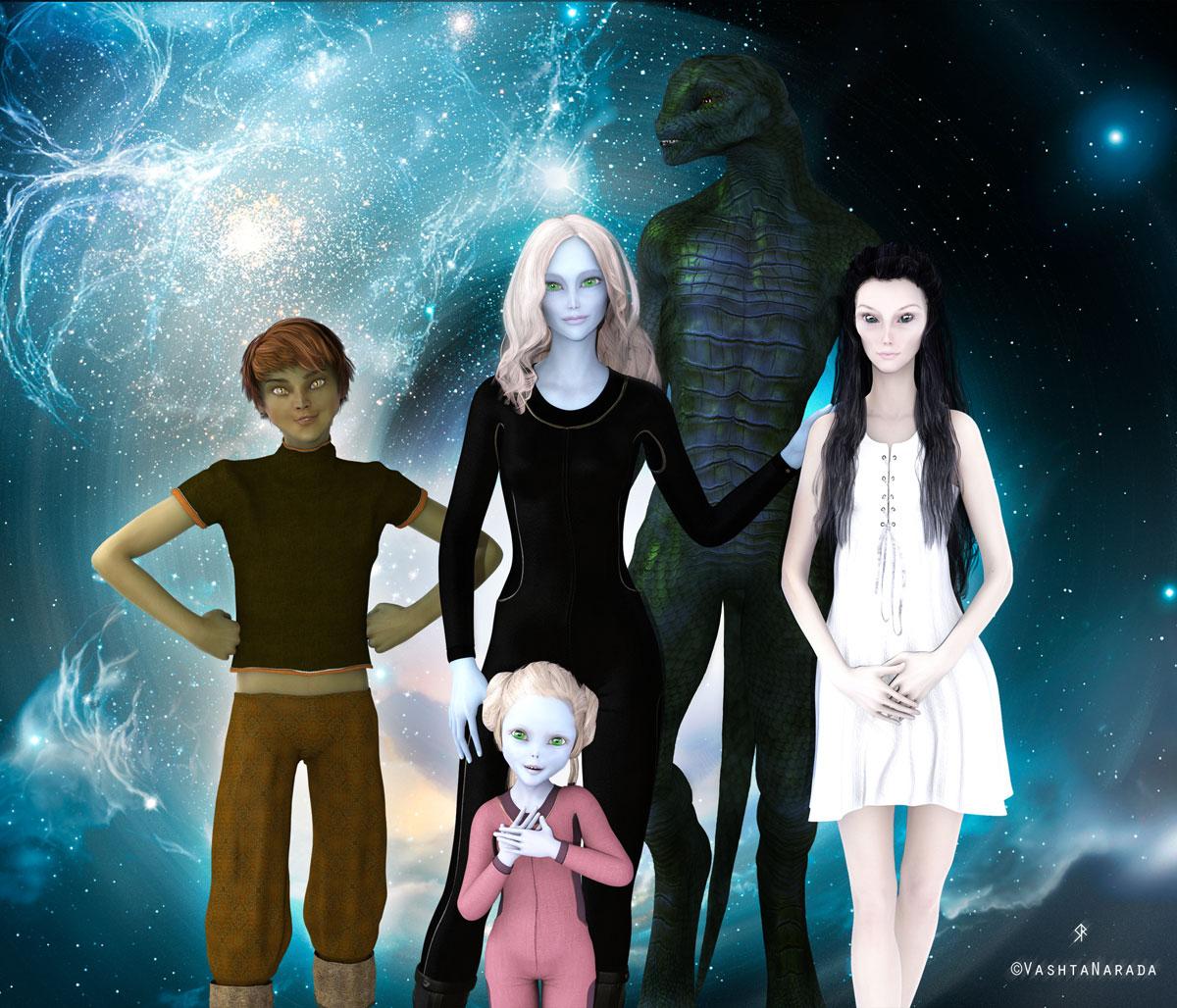 Hybrid Children family