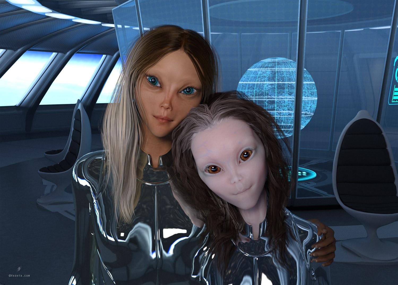Jorge's hybrid daughters