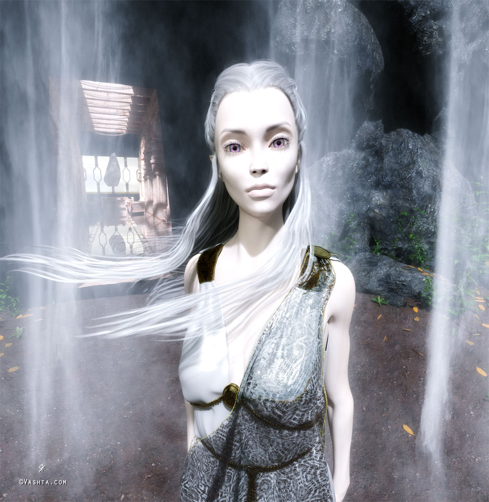 Agarthan Priestess